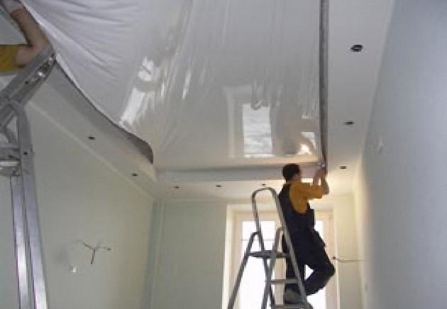 Poser faux plafond platre la rochelle devis gratuit en for Poser toile de verre plafond